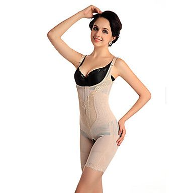 39883f538a Women s Carnation Thin Seamless Fat Burning Nylon Shapewear