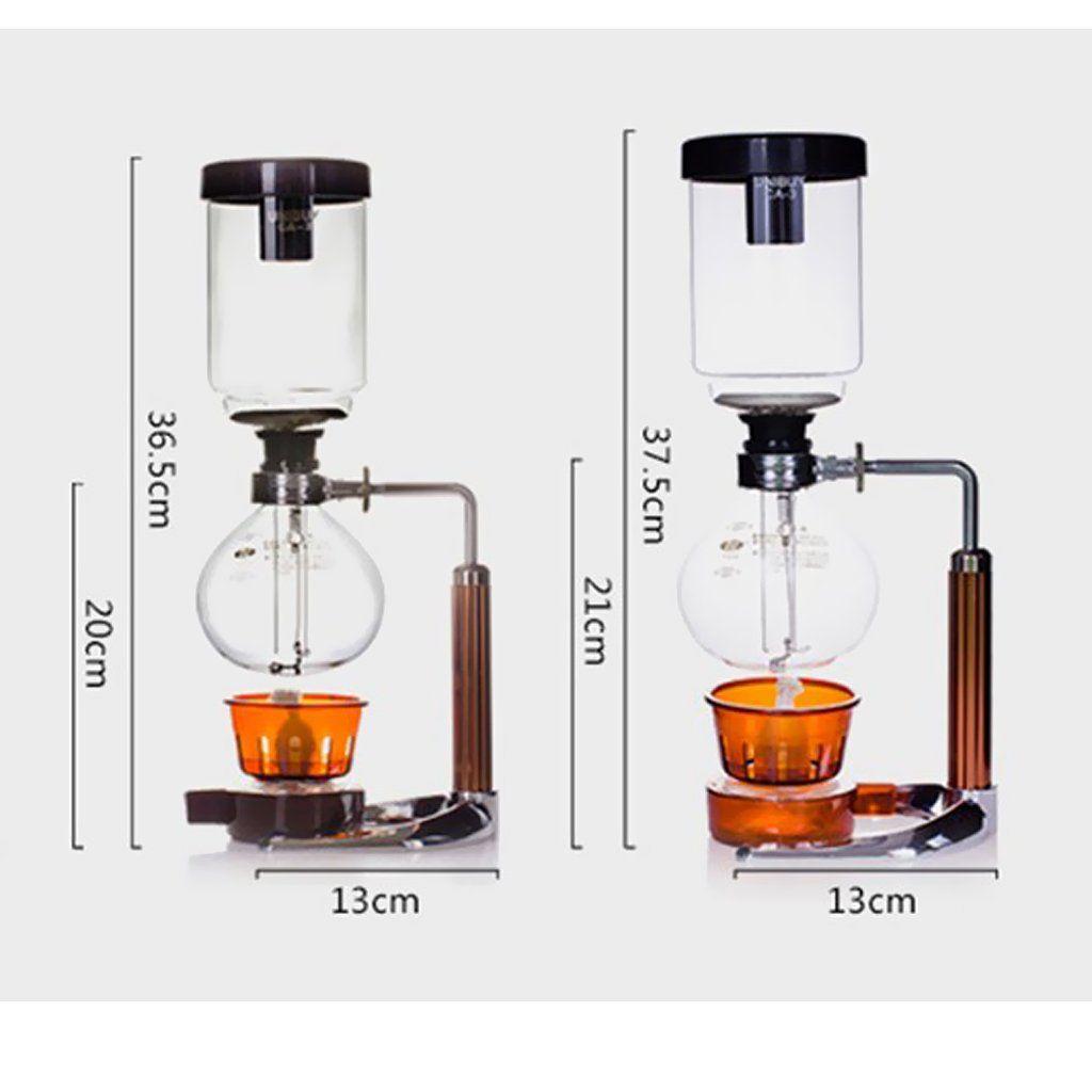 Baoblaze Tabletop Siphon / Syphon Coffee Maker Vacuum
