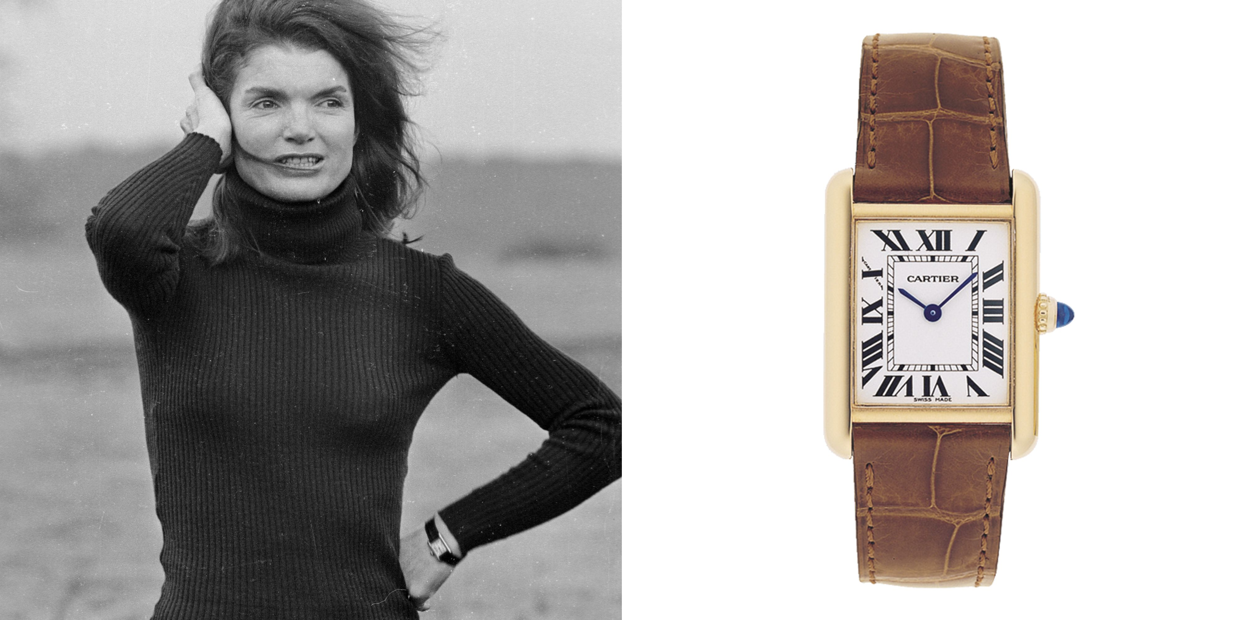 What celebrities 39 watches say about them pinterest cartier tank jackie kennedy and cartier for Woman celebrity watches