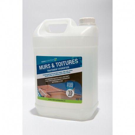 EN STOCK - Hydrofuge Toiture & Murs : empêche l'apparition de mousses et conserve l'étanchéité ...