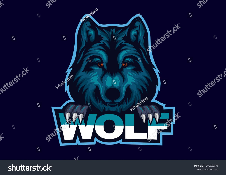 Wolf esport logo design esport logodesign esportlogo