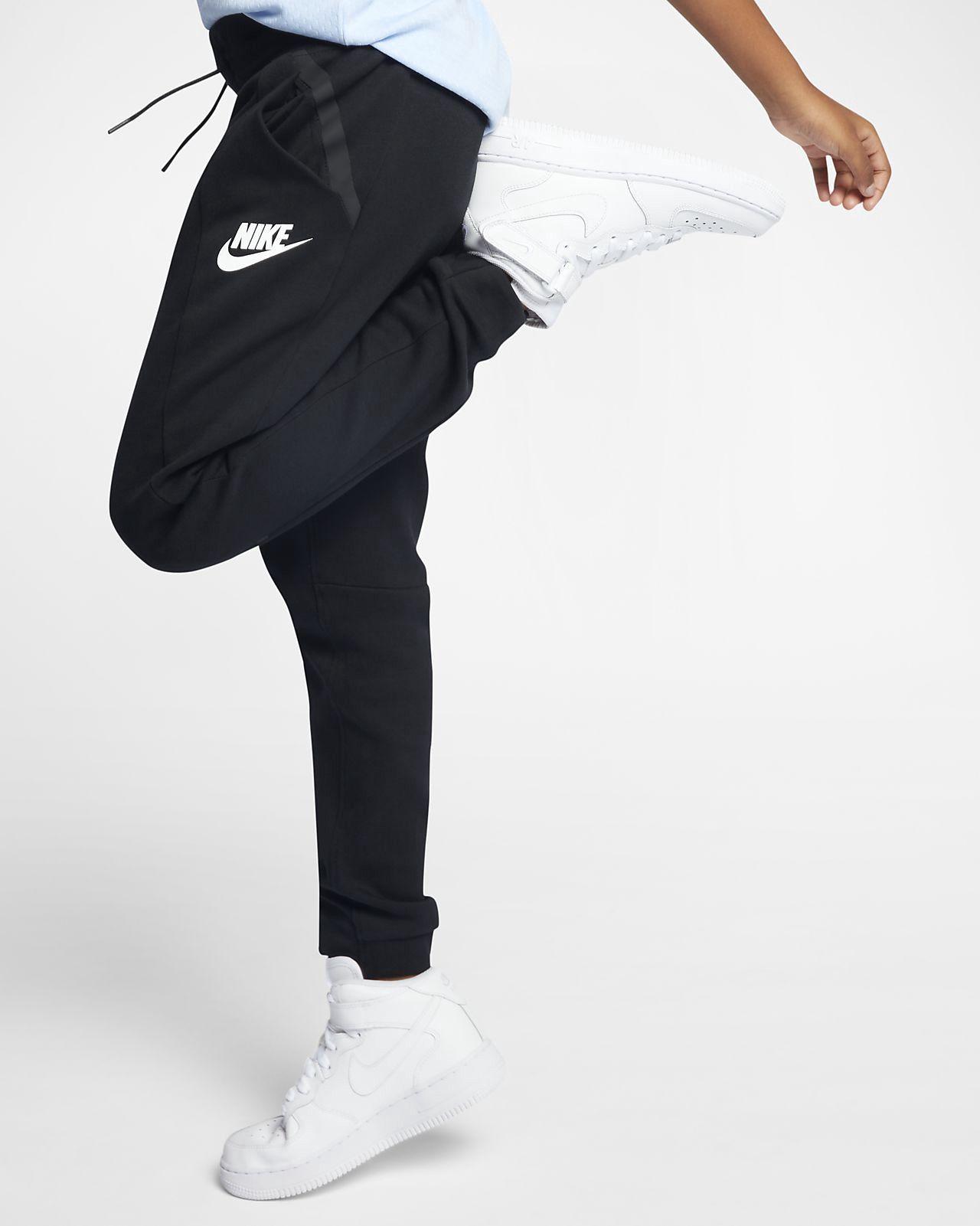 3ee32283fabbc Nike Sportswear Tech Fleece Big Kids' (Girls') Pants - M (10-12 ...