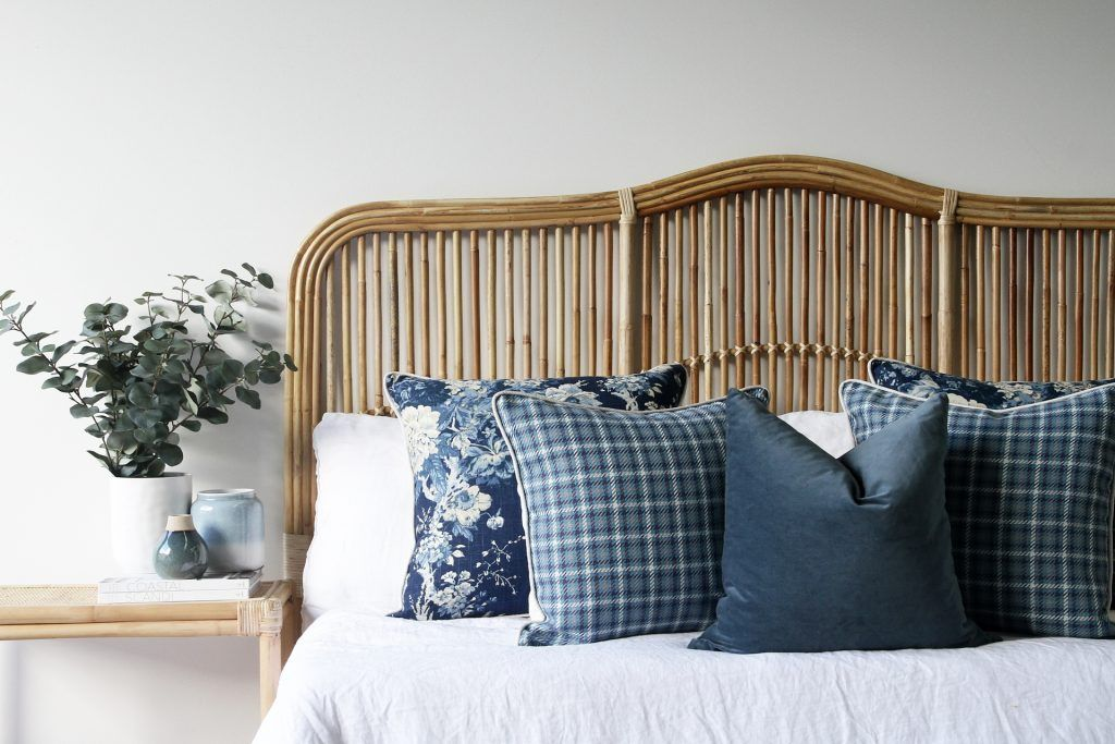 Luxe Bedroom Naturally Cane Rattan and Wicker Furniture