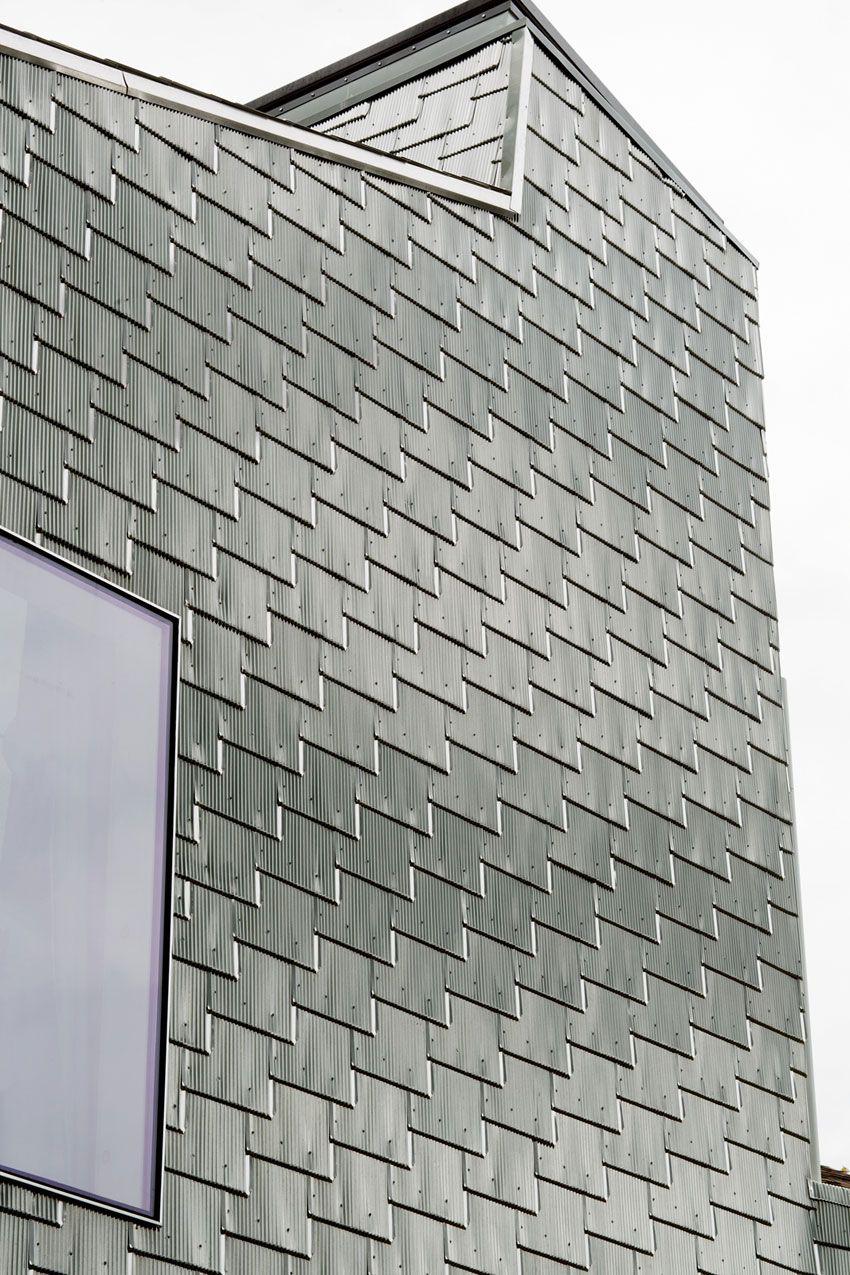 Metal Shingle House Connecticut Architect Elijah Huge