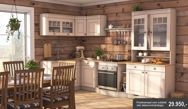 Hyttekj kken kitchen cabin house Energy efficient kitchen design