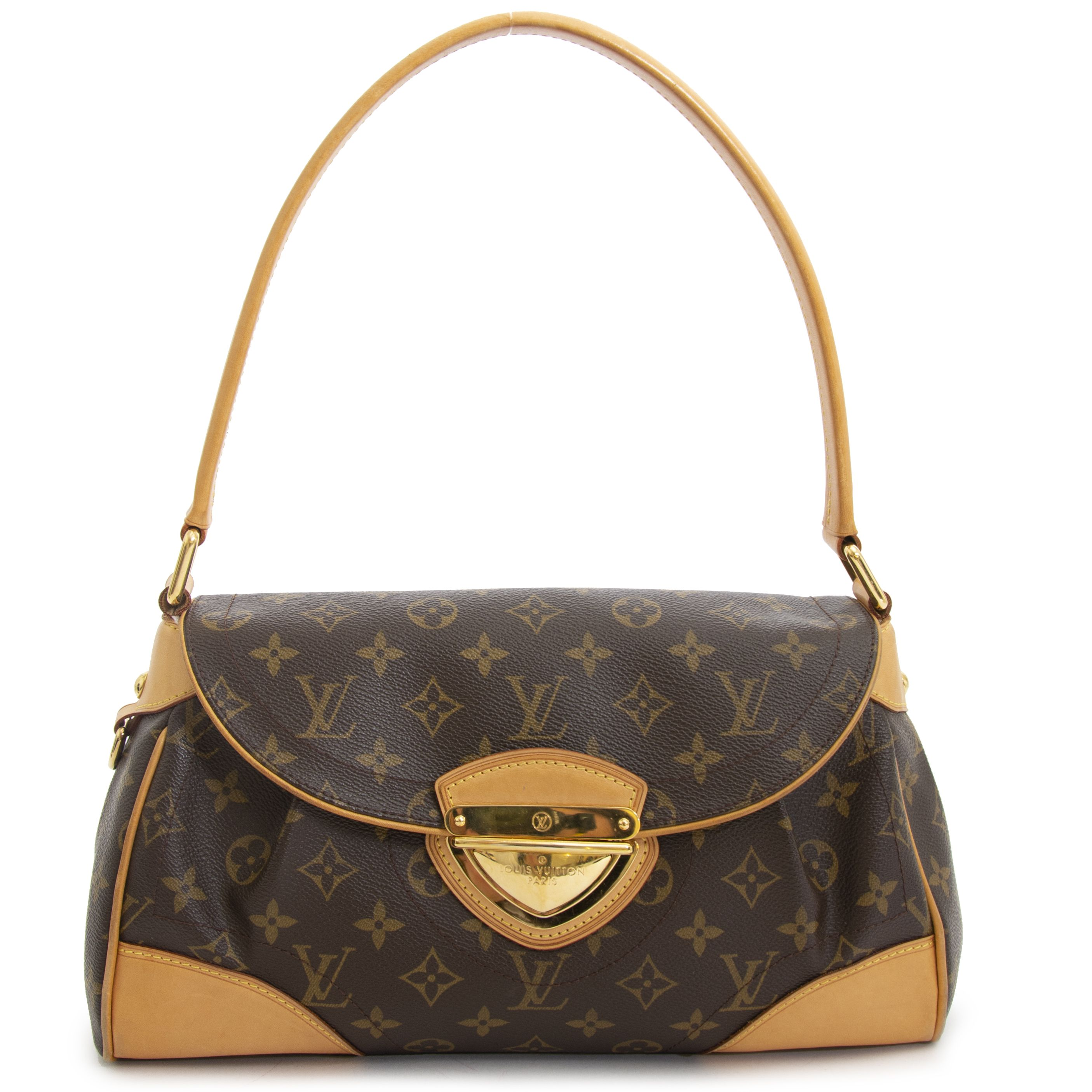 253831aaa497 Louis Vuitton Monogram Beverly MM