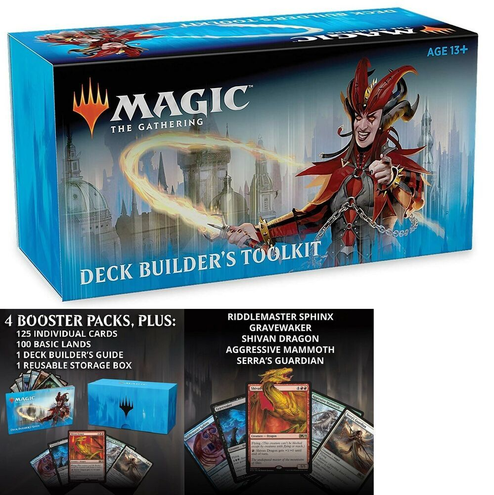 Magic The Gathering Ravnica Allegiance Deck Builder S Toolkit 4 Booster Packs Magicthegathering Ravnica Deck Builders Magic The Gathering Building A Deck