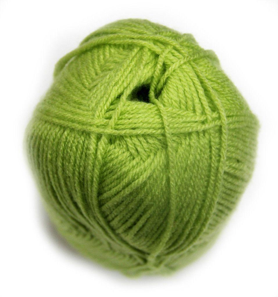Bonita Yarns - Dream Baby Solids - Electric Green