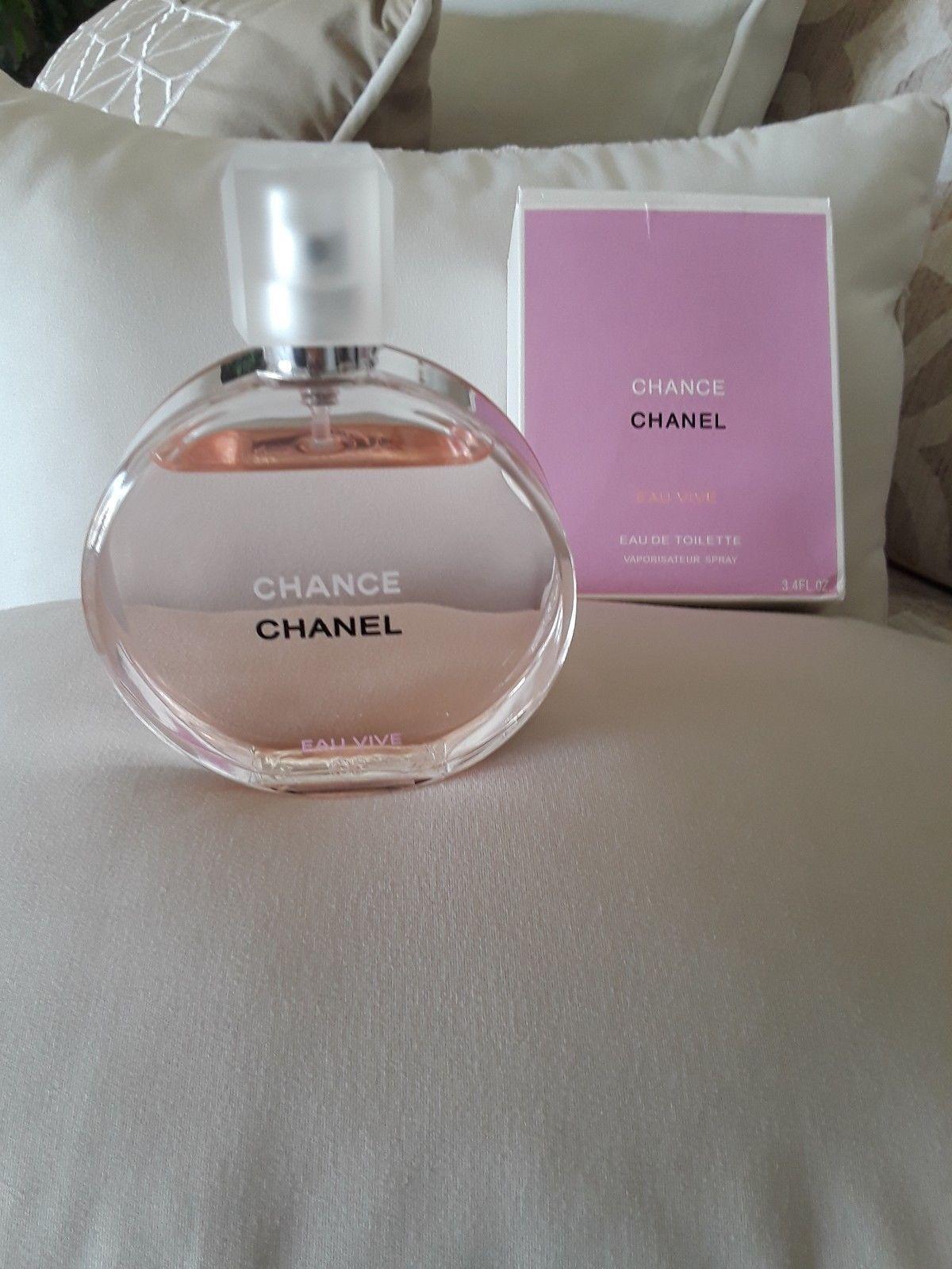 42 00 Chanel Chance Eau Vive 3 4oz Women S Eau De Toilette Chanel Chance Vive 3 4oz Womens Toilette Frag Perfume Storage Perfume Eau De Toilette
