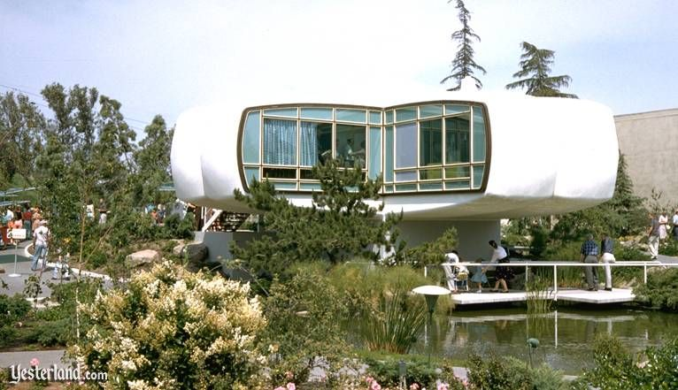 Monsanto House Of The Future At Disneyland House Of Tomorrow