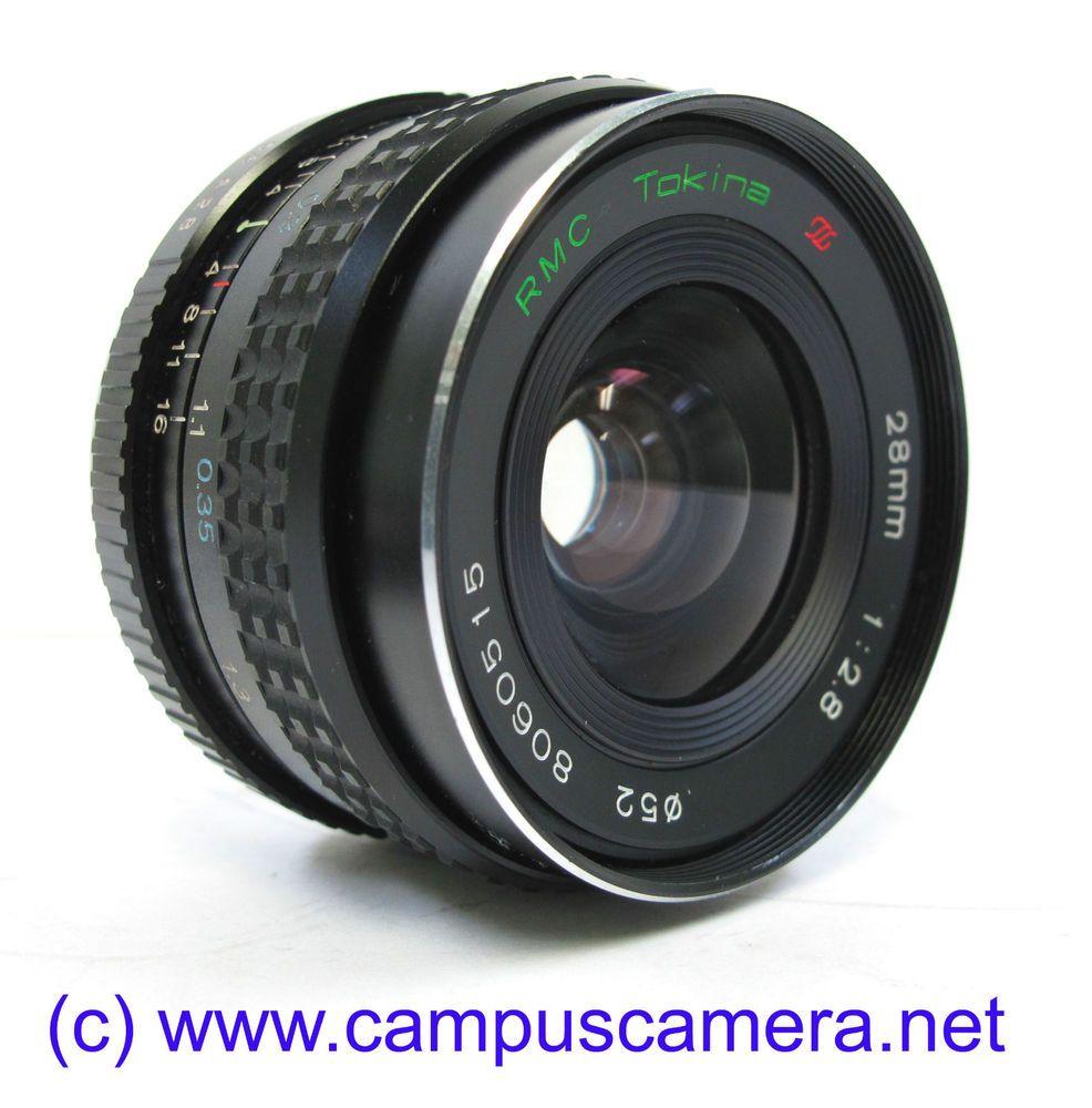 Tokina Rmc 28mm F2 8 Mf Full Frame High Speed Prime Lens Pentax K Mirrorless Prime Lens Pentax Lens