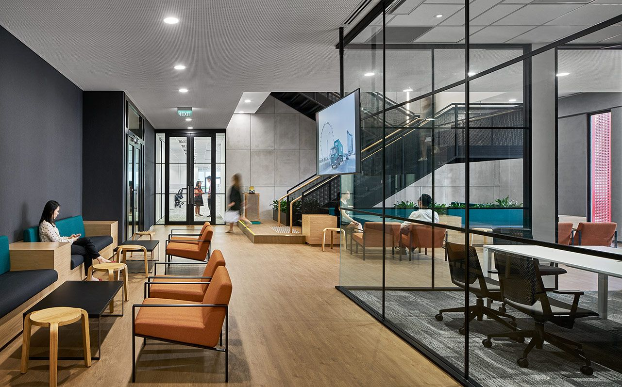 Geyer design firm singapore toll interior 3 office for Design agency singapore