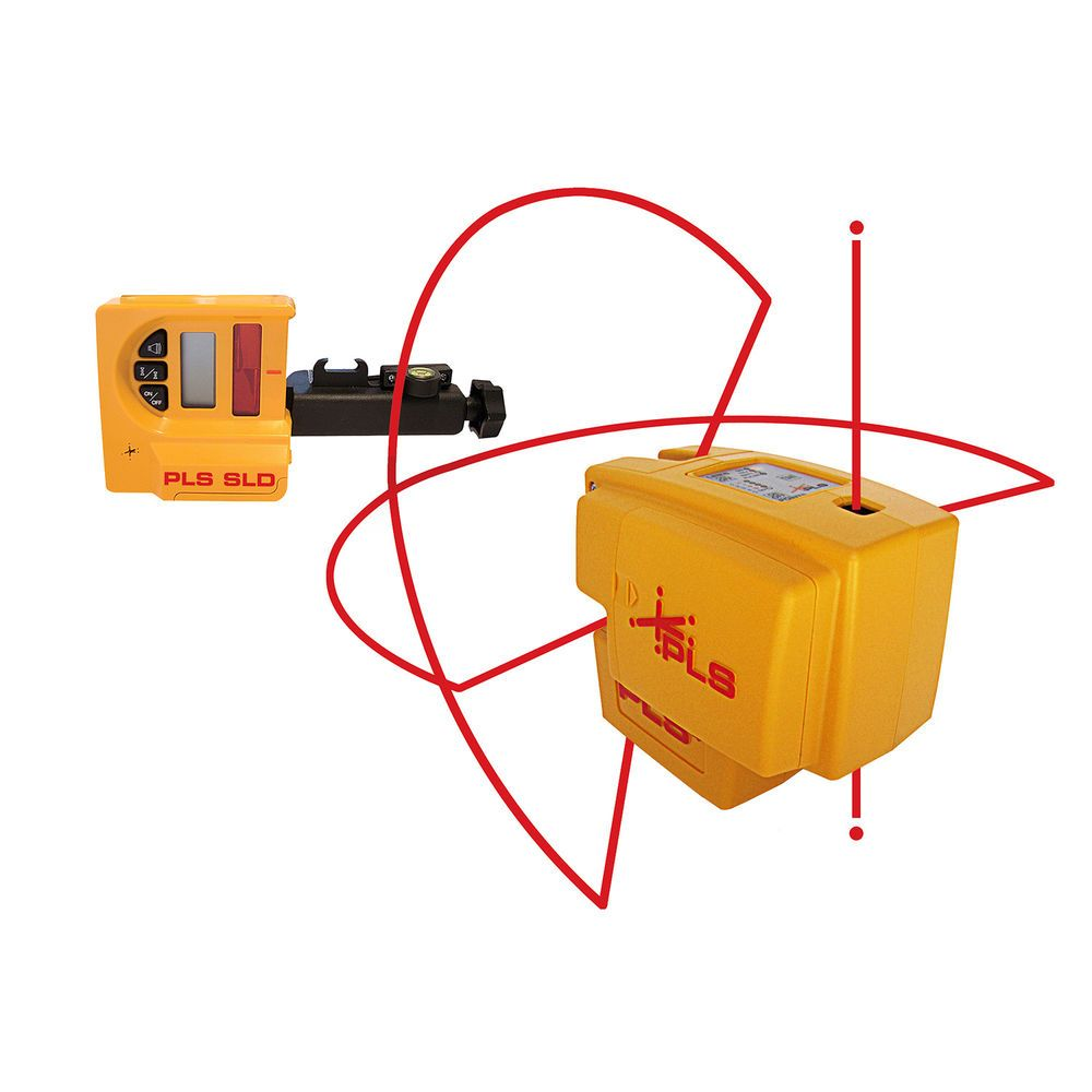 Pacific Laser Systems Pls Pls 60588 Pls4 Self Leveling Laser System W Detector Ebay Link Laser Continuous Line Magnetic Wall