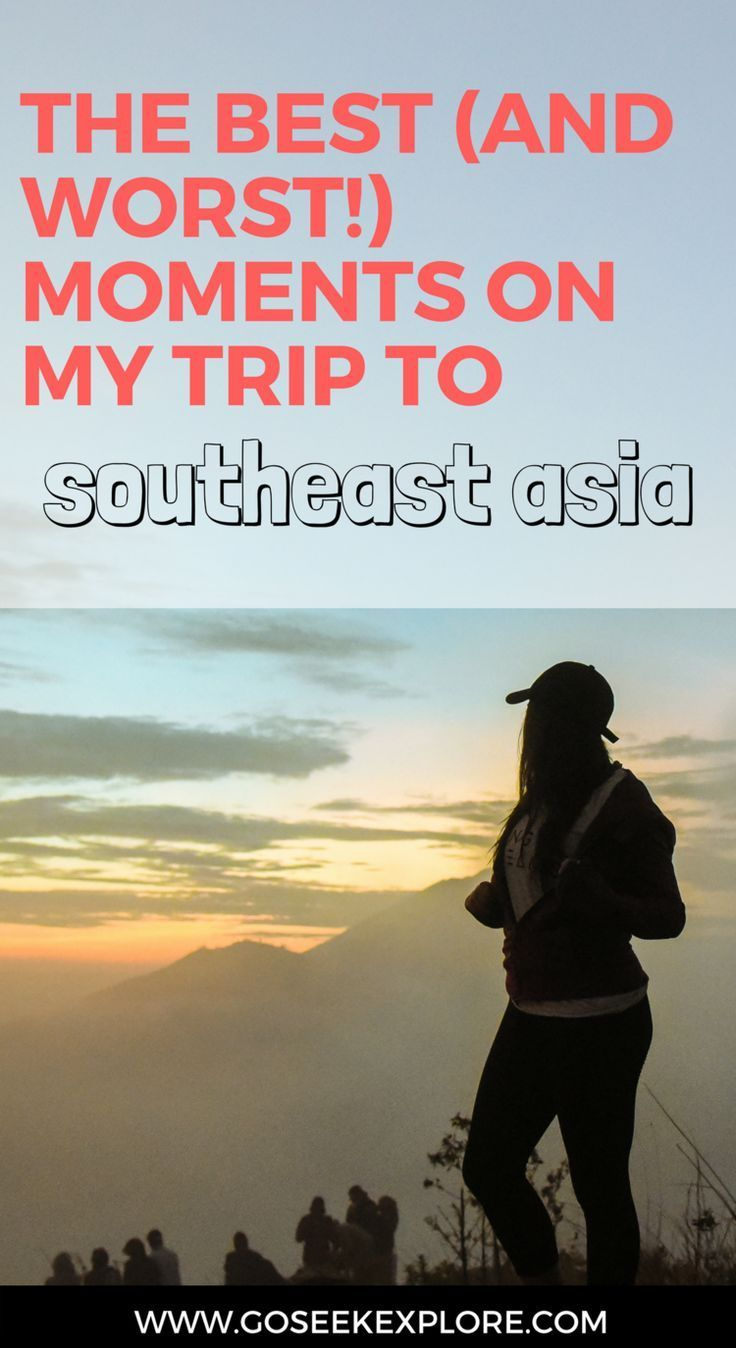 the best & worst moments backpacking and traveling
