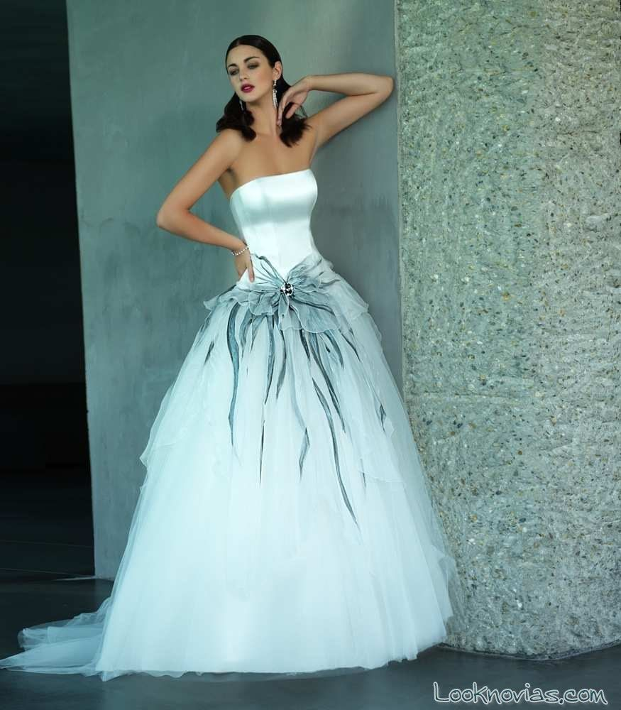 Fantastic Vestidos Novia Colores Photos - Wedding Ideas - memiocall.com