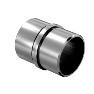 Arke Inox Handrail Stainless Steel Joint Straight 1 Pack Da1120 The Home Depot Handrail Stainless Steel Railing