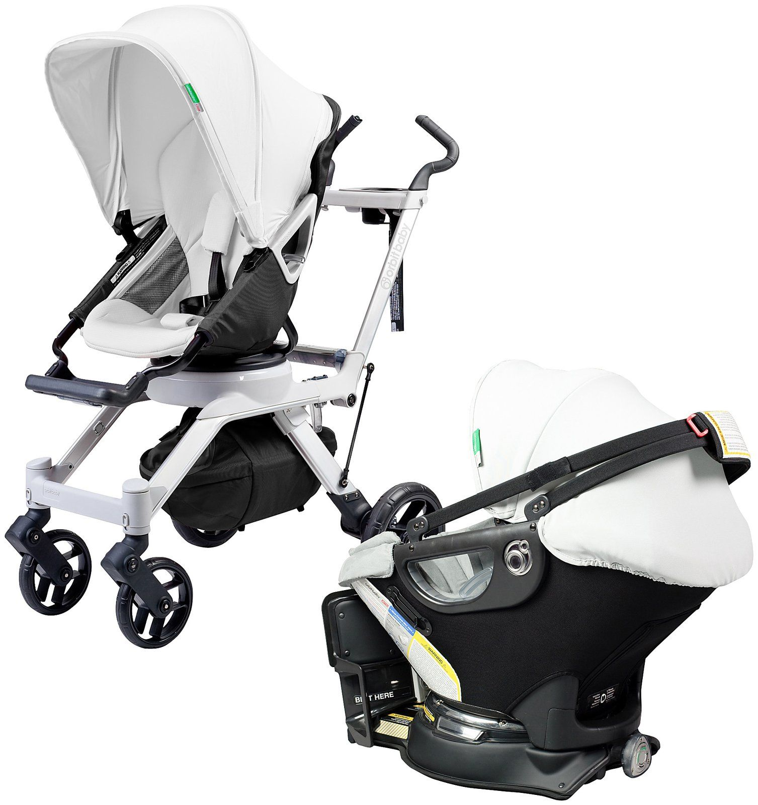 Orbit Baby G2 Travel Collection Black Free Shipping