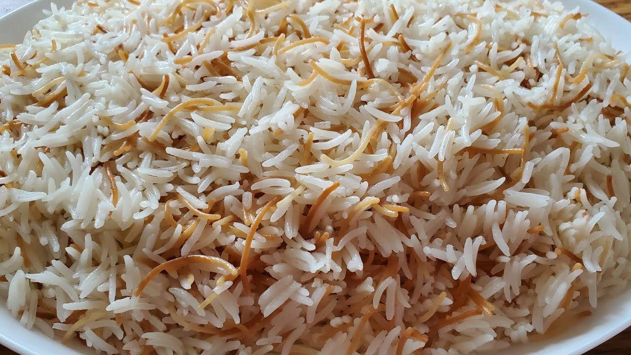 انجح طريقة لطبخ الارز المفلفل مع الشعيرية Perfect Rice Recipe With Vermicelli Pasta Youtube Perfect Rice Recipe Vermicelli Pasta Rice
