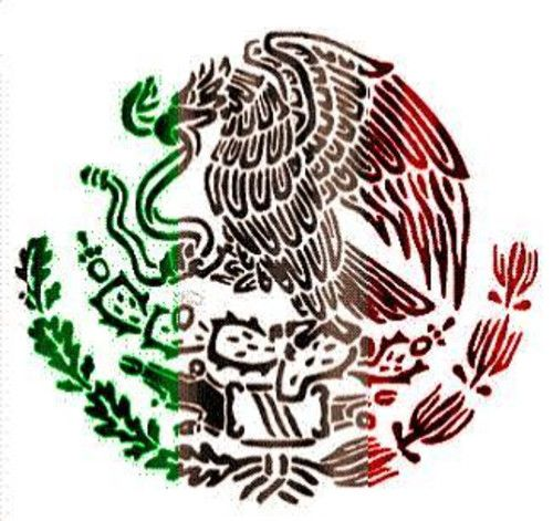 Mexican Coat Of Arms Tattoo