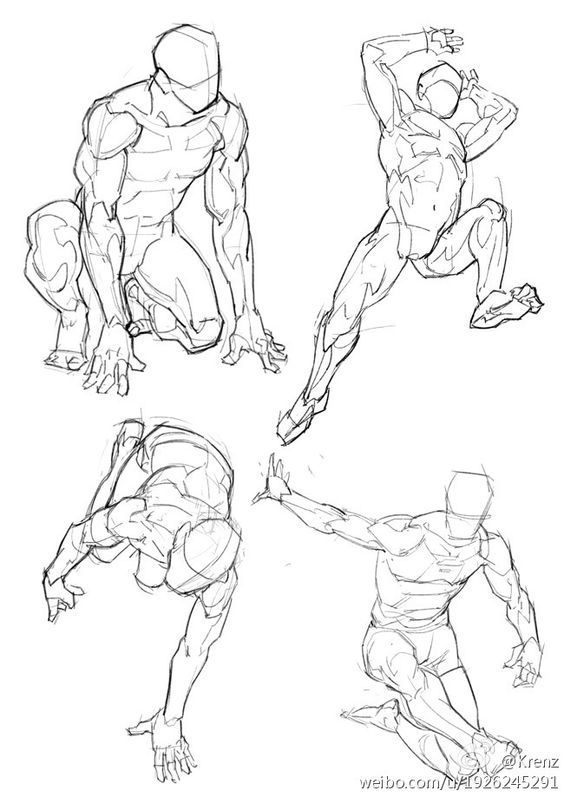 By Krenz Drawing Pinterest Anatomy Pose And Drawings