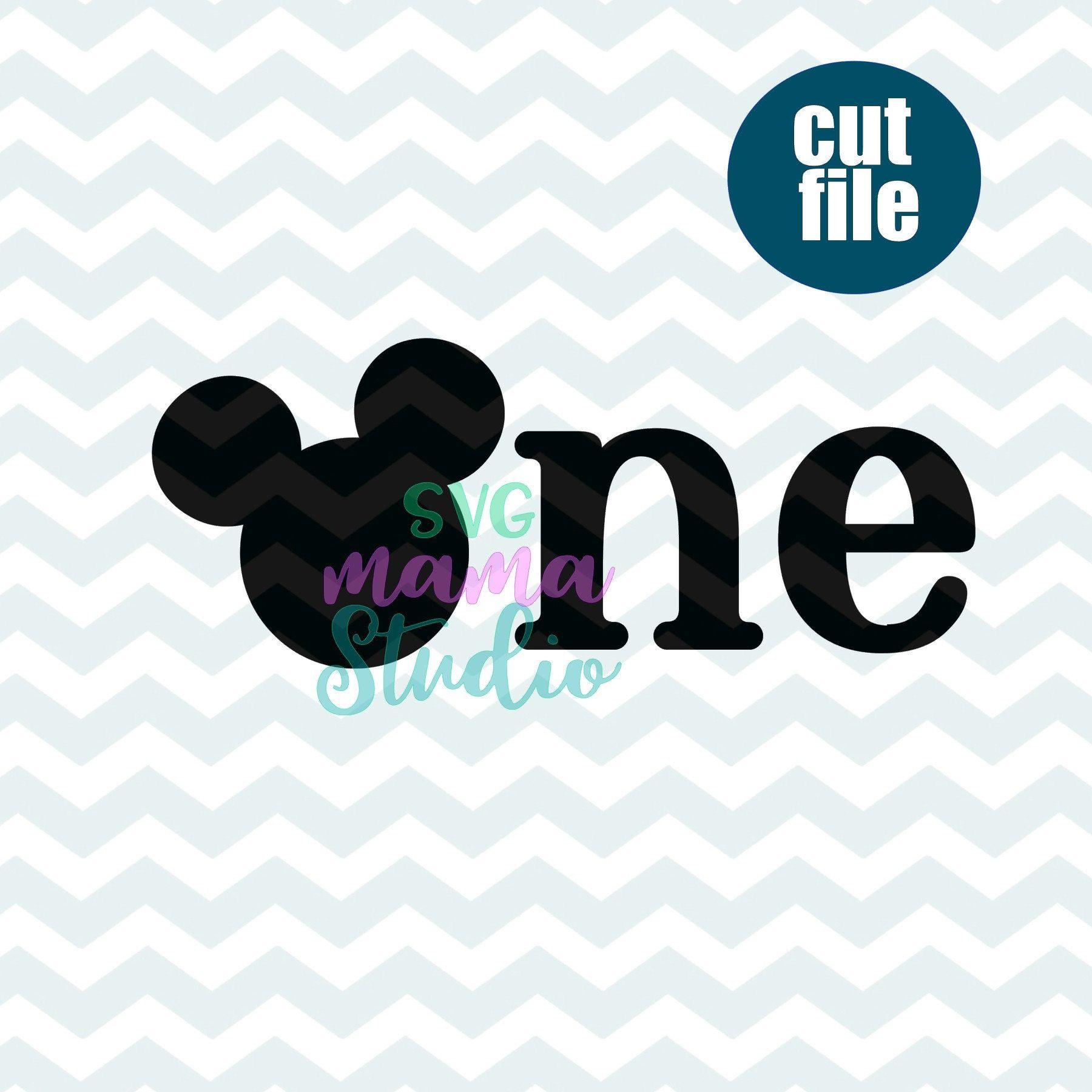 Disney First birthday SVG, mickey mouse 1st birthday svg