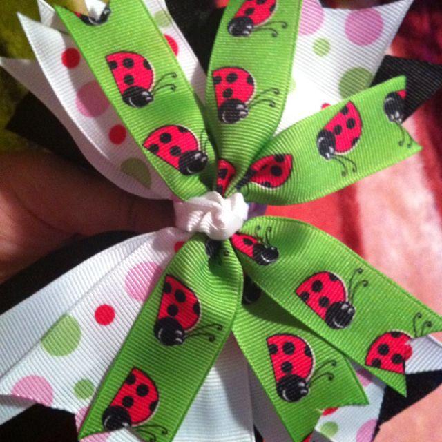 Ladybug bow