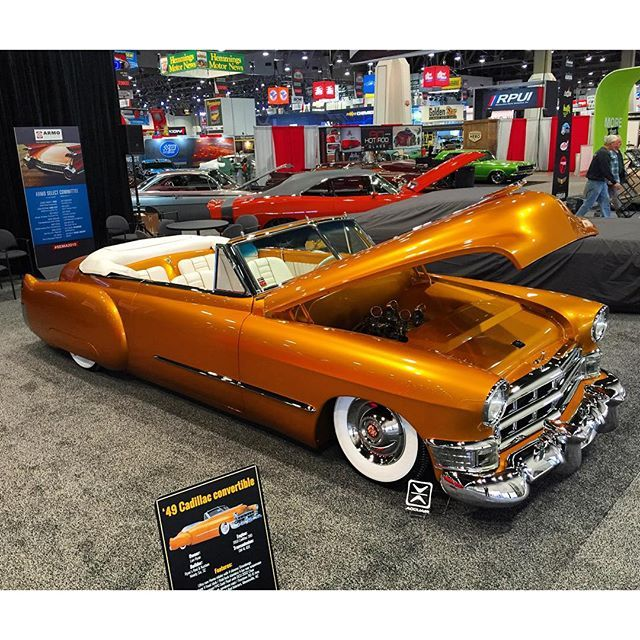 We want to hear which SEMA car is your favorite! View and vote for this car and all of the others we spotted here: http://www.eastwood.com/votenow  #semashow #sema2015 #caddy #eastwoodco #cadillac