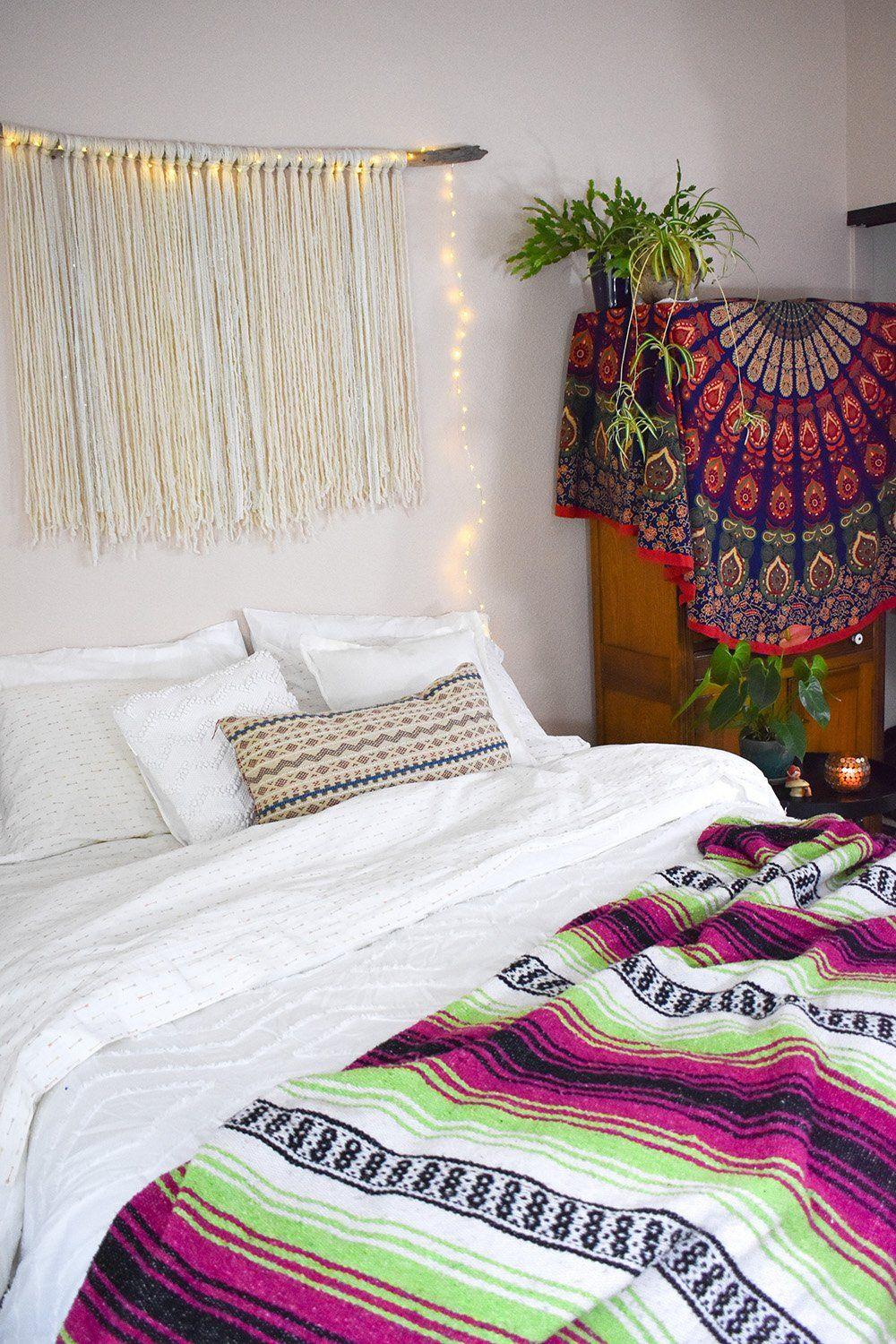 boho hygge dreamy home style classy bedroom wall on hygge wall decor id=17835