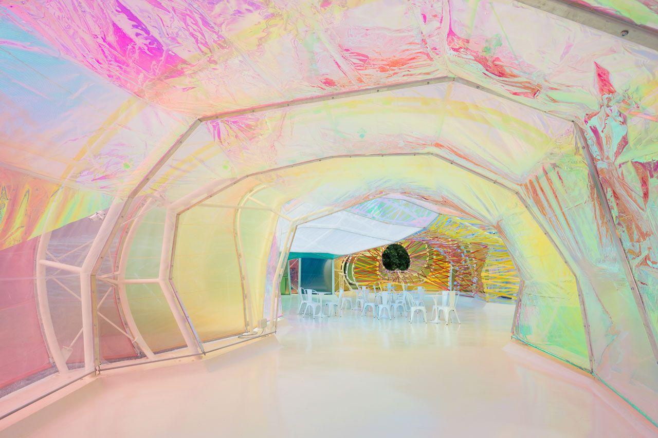 SelgasCano, Serpentine Pavilion 2015. Photo © Iwan Baan