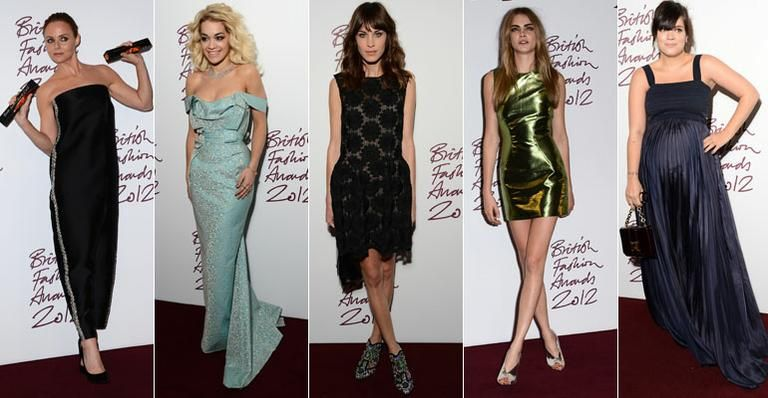 CARAS - Red Carpet - Os vencedores do British Fashion Awards