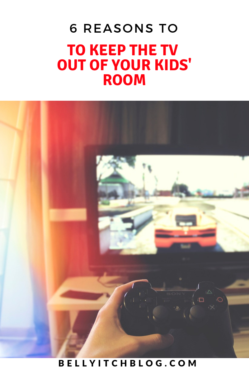 Is There Tv In Your Childs Room >> 6 Reasons Why You Should Take The Tv Out Of Your Child S Room All