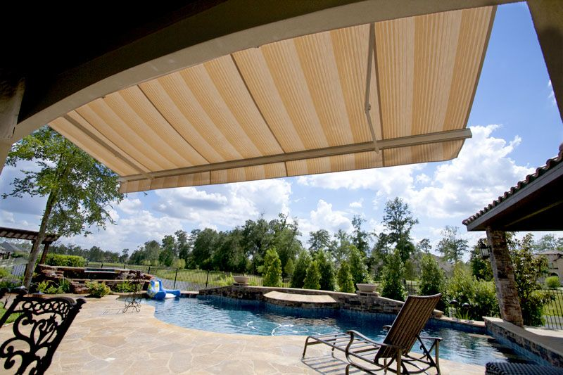 Retractable Awnings | Motorized Awnings | Houston, TX | Rollac Rolling  Shutters