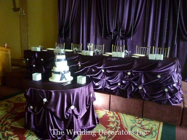 Head Table Decor Idea Help: Wedding Decorating, Wedding