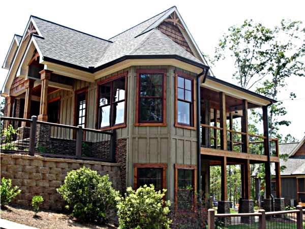exterior house pictures | lakes, cottage style house plans and