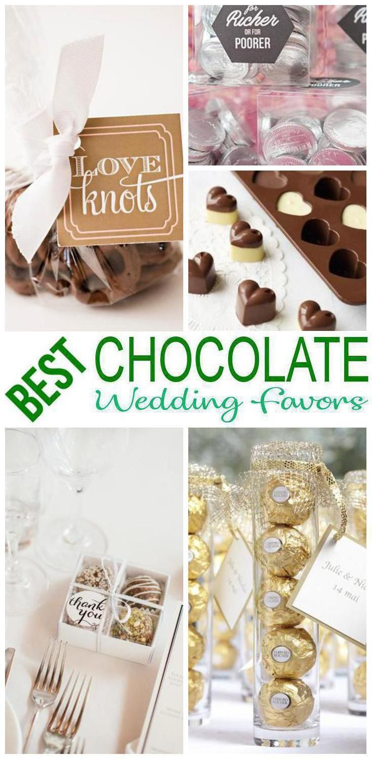 Wedding Favors The Best Chocolate Wedding Favor Ideas Choose From