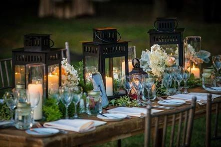 Wedding Planners 2015 wedding flower trends include the garden to table look like this one ~ Wedding Salon~ Carroll's Florist