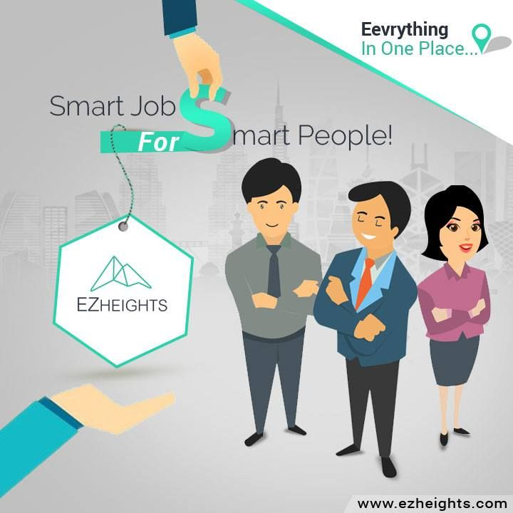 Smart ‪Jobs for ‪Smart ‪People  http://www.ezheights.com/Jobs/Looking-to-Hire/
