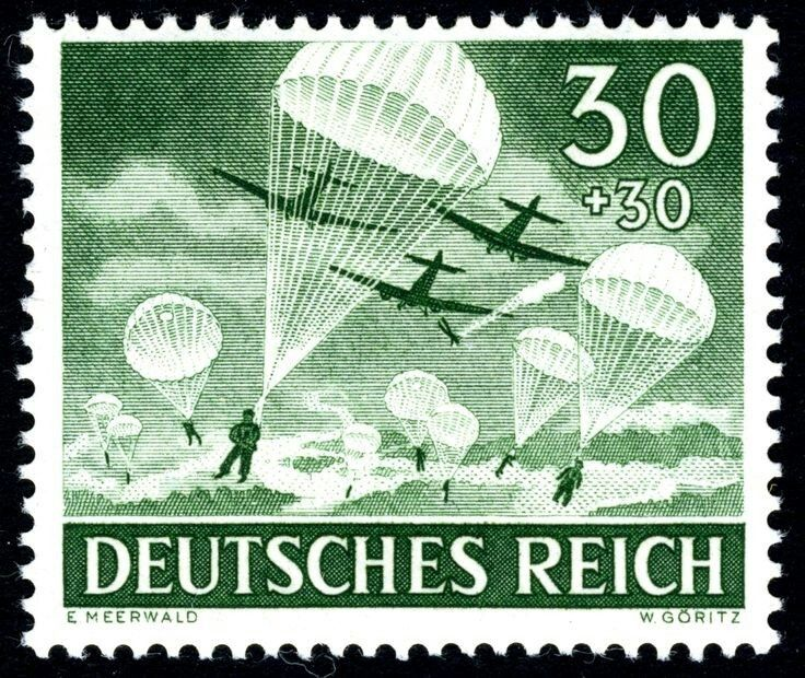 Pin By Santiago Zubilet On Tercer Reich German Stamps Old