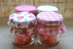 Mini Jelly Jars With Candy