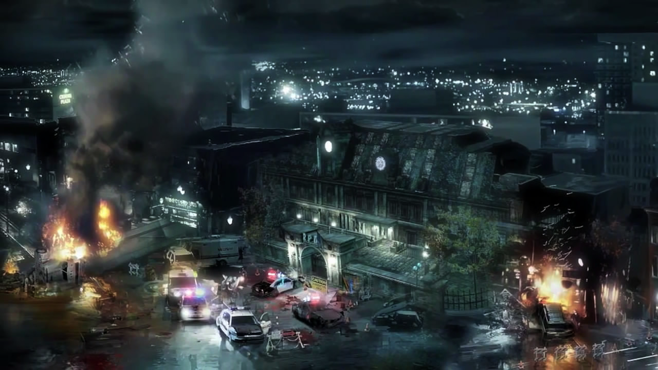 Falling City Resident Evil Operation Raccoon City Resident