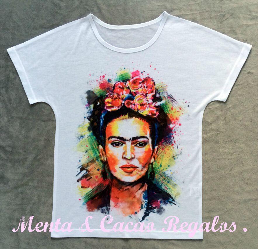 Camiseta ilustración Fridakahlo