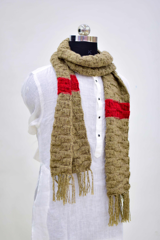 Hand made Muffler wool | Sardar sikh fashion | Knitting