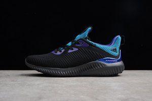 e385329e54d7a Mens Adidas Alphabounce Beyond Core Black Grey Five Energy ink CQ0304 Running  Shoes