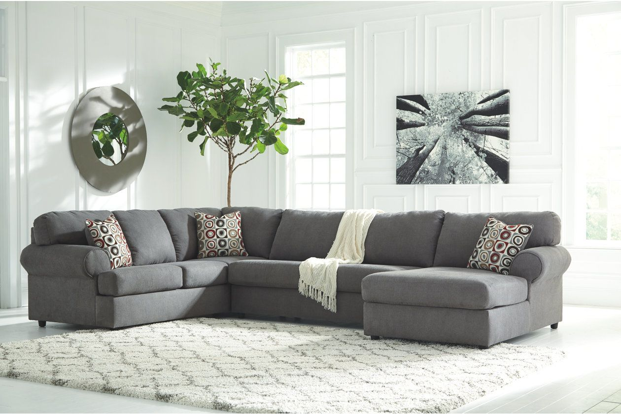 jayceon 3 piece sectional ashley furniture homestore i heart rh pinterest com