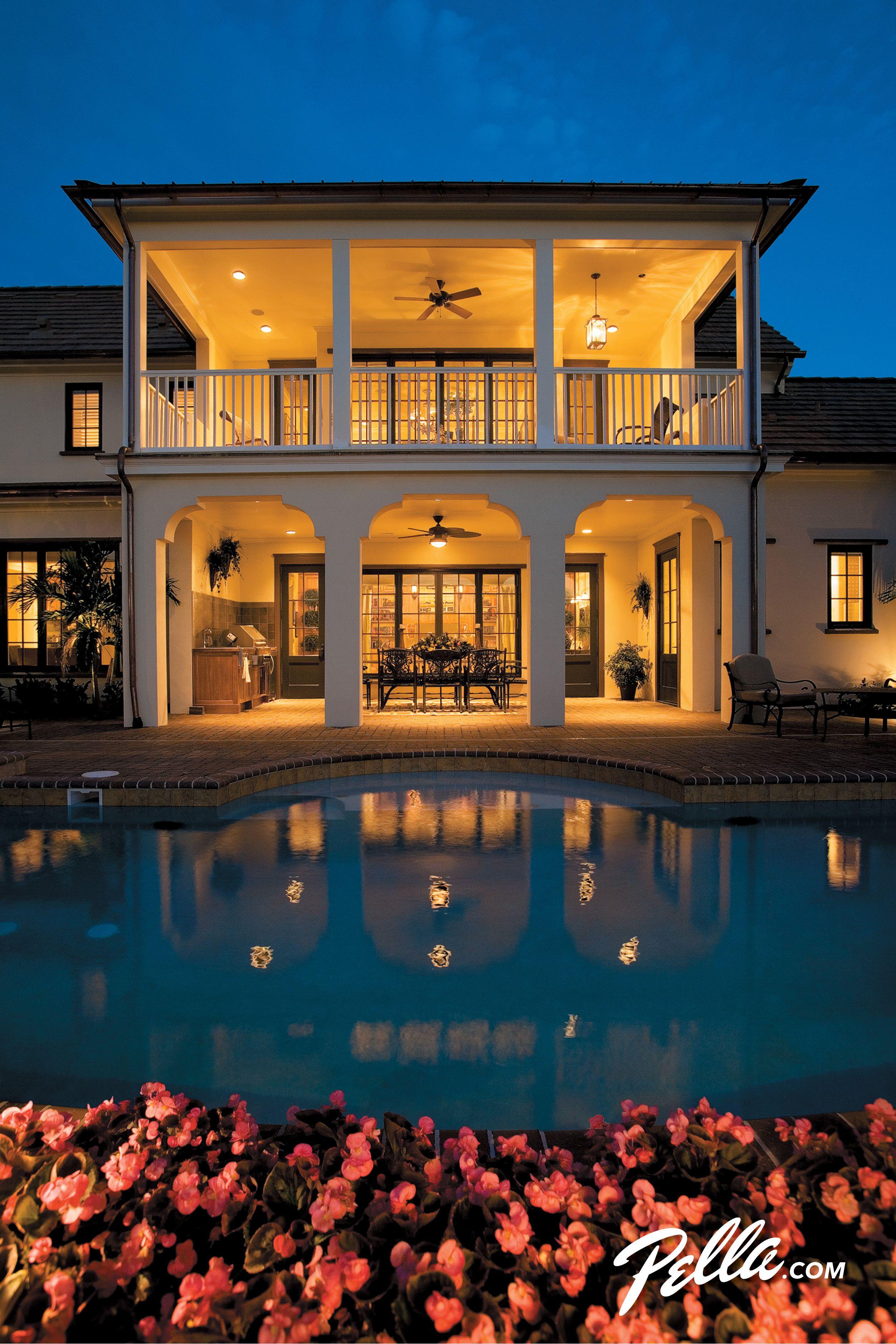 Pella Architect Series hinged patio doors and casement windows