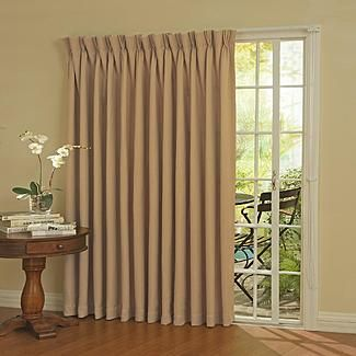 Eclipse Curtains Patio Door Thermal Blackout Curtain Panel For