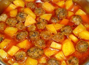 Photo of Potato Sour Watery Meatballs