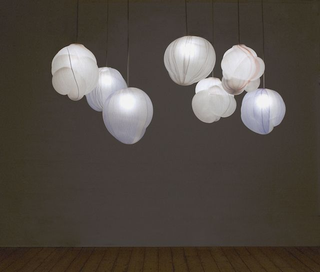 Suspended Clouds Lamps In Glass Cloud Lamp Glass Blowing Light