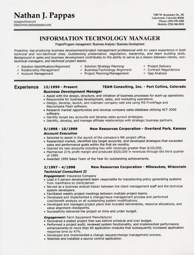 sample resume headings header heading samples cover Home Design - project management sample resume