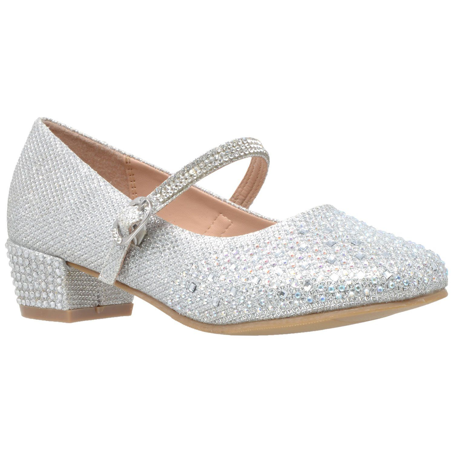9dec327fd17 Toddler   Youth Glitter Mary Jane Pump in 2018